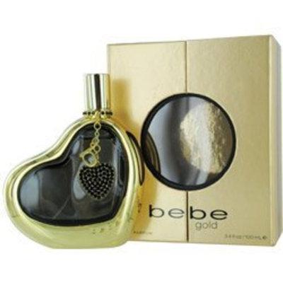 Bebe Gold By Bebe Eau De Parfum Spray 3.4 Oz For Women