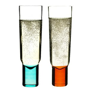 Sagaform Set of Two Champagne Glasses