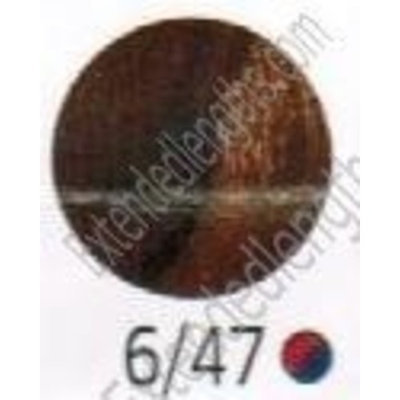 Wella Color Touch Multidimensional Demi-Permanent Color 1:2 6/47 Dark Blonde/Red Brown