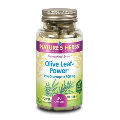 Nature's Herbs - Olive Leaf-Extract - 30 Capsules