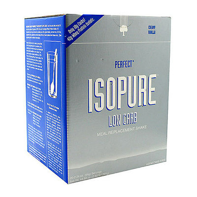 Nature's Best Perfect Isopure Low Carb Creamy Vanilla Protein Drink Mix Powder