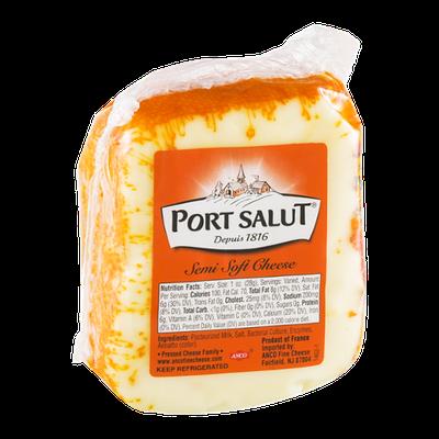 Port Salut Semi Soft Cheese