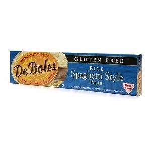 DeBoles Gluten Free Rice Spaghetti Pasta