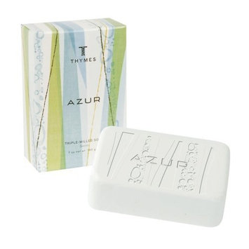 Thymes Bar Soap, Azur, 7-Ounce Bar