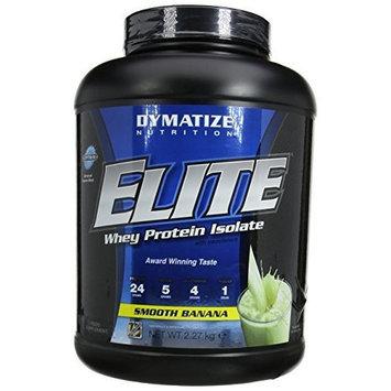 Dymatize Nutrition Elite Whey Protein Powder, Smooth Banana, 5 Pound