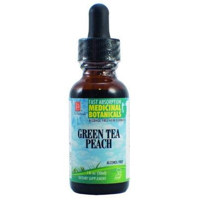 Green Tea Peach Glycerine, 1 oz, L.A. Naturals