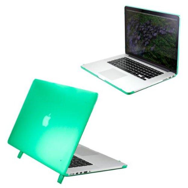 Green Matte Transparent Hard PC Case Cover for MacBook Pro 15