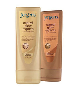 JERGENS® Natural Glow® Express Body Moisturizer Three Days