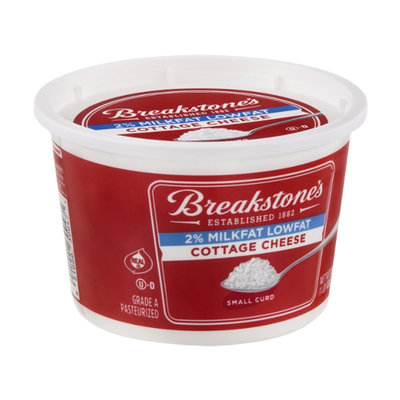 Breakstone's Cottage Cheese Small Curd 2% Lowfat