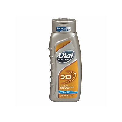Dial® for Men 3-D Odor Defense Body Wash