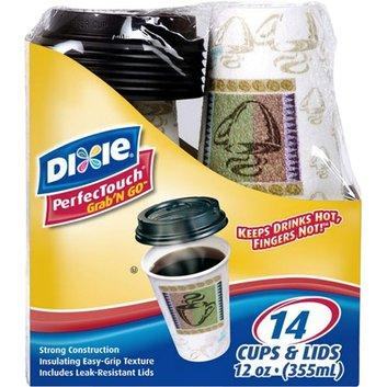 Dixie 12 oz Grab N Go Coffee Cups