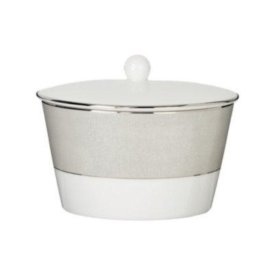 Monique Lhuillier Waterford Dinnerware, Stardust Covered Sugar Bowl