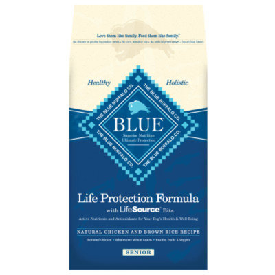 Blue Buffalo BLUETM Life Protection Formula Senior Dog Food