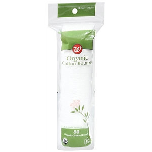 Walgreens Organic Cotton Rounds