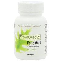 Food Science Of Vermont Folic Acid Capsules, 60 Count