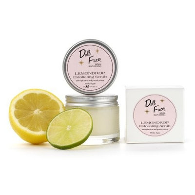 Doll Face Lemondrop Exfoliating Scrub, 2-Ounces