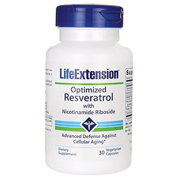 Optimized Resveratrol with Nicotinamide Riboside Life Extension 30 VCaps