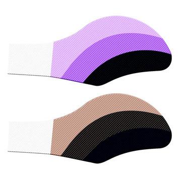 Test Eye Majic Instant Eye Shadow, Seduce Me & Miss Behavin Shades - 2 pair of each