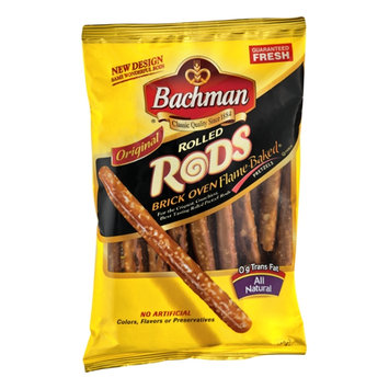 Bachman Brick Oven Flame-Baked Original Rolled Rods Pretzels