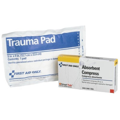 First Aid Only 32 Sq. In. Absorbent Trauma Pad (Pack of 20)