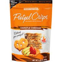 Pretzel Crisps® Chipotle Cheddar Crackers Thin Crunchy