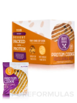 Buff Bake Protein Cookie Frosted Oatmeal Raisin 12 Cookies