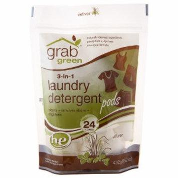 GrabGreen 3-in-1 Laundry Detergent