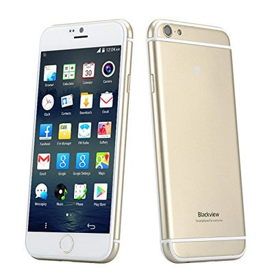 Blackview Ultra A6 Phone - 4.7 Inch 1280x720 Capacitive TFT OGS Screen, MTK6582 Quad Core CPU, Back Touch, Android 4.4 OS (G