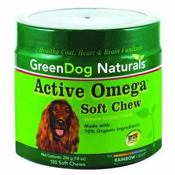 Green Dog Naturals GreenDog Naturals Active Omega Soft Chews, 130 Soft Chews