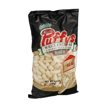 Gibble's Cheese Puffys White Cheddar Cheese Flavored Baked Snack