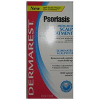 DEL PHARMACEUTICALS Dermarest Psoriasis Scalp Treatment 4 Oz