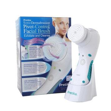 Pretika SonicDermabrasion Pivot-Control Facial Brush - White
