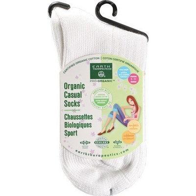 Earth Therapeutics Women's Casual Crew Socks Bone 1 unit