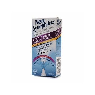 Neo-Synephrine 12 Hour Severe Sinus Congestion Spray