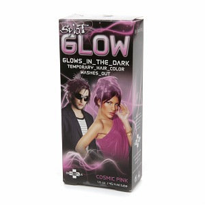 Splat Glow Temporary Hair Color -  Glows in the Dark!