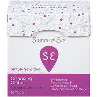 Sunbeam Summer's Eve Flushable Feminine Cleaning Cloths