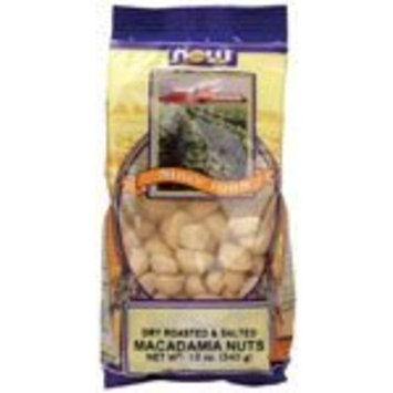 NOW FOODS MACADAMIA NUTS R&S 12 OZ