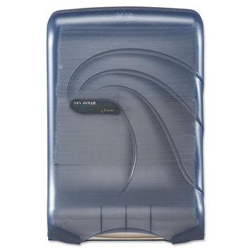 San Jamar T1790TBL - Oceans Kolor-Cut Ultrafold Paper Towel Dispenser