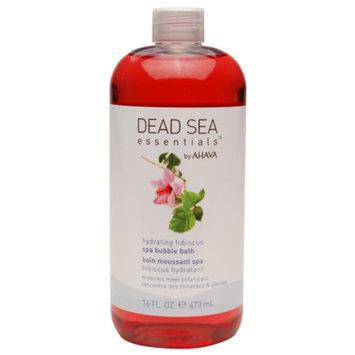 Dead Sea Essentials by AHAVA Hydrating Hibiscus Spa Bubble Bath &