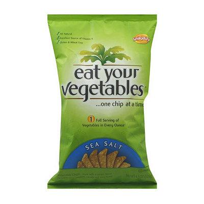 Snikiddy Eat Your Vegetables Sea Salt Chips