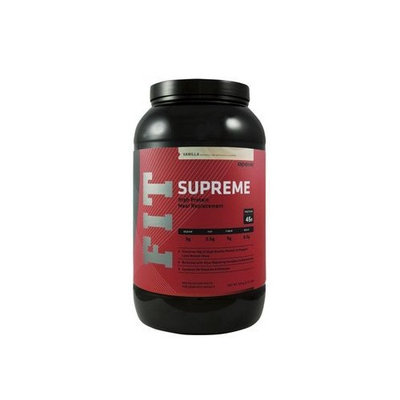 Apex Fitness Apex FIT Supreme, Meal Replacement, Vanilla Flavor, 2.73lb Jug