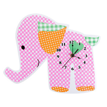 Trend Lab Sherbet Elephant Wall Clock