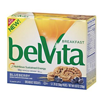 belVita Breakfast Biscuits 5 Pack Blueberry Breakfast Biscuits