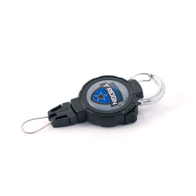 West Coast Chain Mfg. Co. T-Reign Large Retractable Gear Tether Fishing