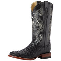 Ferrini Women's Print Crocodile S-Toe Western Boot