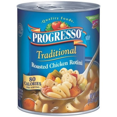 Progresso Traditional Soup, Roasted Chicken Rotini, 19-Ounce Cans (Pack of 6)