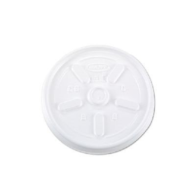 DART 10JL Disposable Lid,10 oz, Foam, PK1000