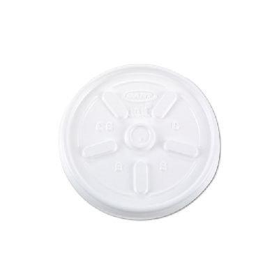 DART 10JL Disposable Lid,10 oz, Foam, PK1000
