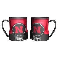 NCAA Nebraska Cornhuskers Boelter Brands 2 Pack Game Time Coffee Mug - Red