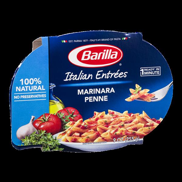 Barilla Pasta Italian Entrees Marinara Penne